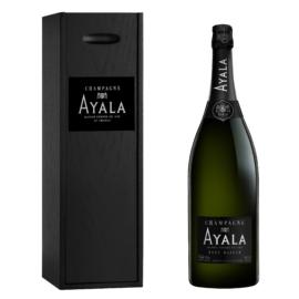 AYALA Brut Majeur Jeroboam (NON-VINTAGE) 40% Pinot Noir, 40% Chardonnay és 20% Pinot Meunier - Champagne - Pezsgő