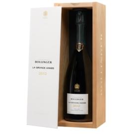 BOLLINGER La Grande Année 2012 - Champagne - Pezsgő - 65% Pinot Noir, 35% Chardonnay -