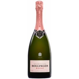 BOLLINGER Rosé - Champagne - 60% Pinot Noir, 25% Chardonnay és 15% Pinot Meunier, - 85%-ba Grand Cru és Premier Cru