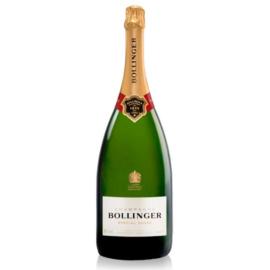BOLLINGER Special Cuvée Jeroboam - 85%-ba Grand Cru és Premier Cru területekről szelektált 60% Pinot Noir, 25% Chardonnay, 15% Pinot Meunier házasítása.