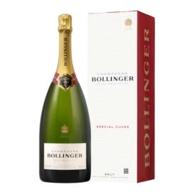 BOLLINGER Special Cuvée Magnum - 60% Pinot Noir, 25% Chardonnay és 15% Pinot Meunier -  Pezsgő -