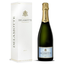 DELAMOTTE Brut - 55% Chardonnay, 35% Pinot Noir, 10% Pinot Meunier - Non-Vintage Champagne