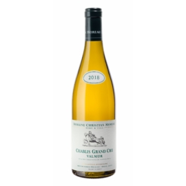 DOMAINE CHRISTIAN MOREAU Chablis Valmur Grand Cru 2018 - Fehér bor - Chablis régióból - 100% Chardonnay