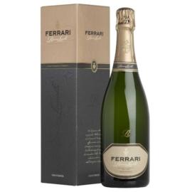 A Ferrari Riserva Lunelli a Villa Margont Chardonnay ültetvényből születik, ez a tölgyfahordókban érlelt alapborokból készítült gazdagság és rendkívüli összetett remekmű.
