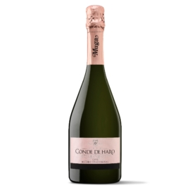 MUGA Cava Conde de Haro Rosé 2016 - Kézi szüretelésű pezsgő