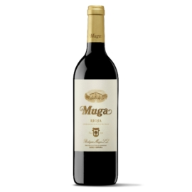 Muga Reserva egy nagy klasszikus Riojaból. Sok piros és fekete bogyós gyümölcsel és finom kávés csokoládés utóízzel.