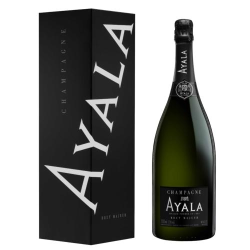 AYALA Brut Majeur Magnum (NON-VINTAGE) 40% Pinot Noir, 40% Chardonnay és 20% Pinot Meunier - Champagne - Pezsgő