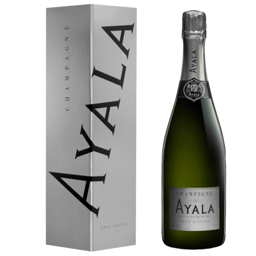 AYALA Brut Nature (NON-VINTAGE) 40% Pinot Noir, 40% Chardonnay és 20% Pinot Meunier - Champagne - Pezsgő