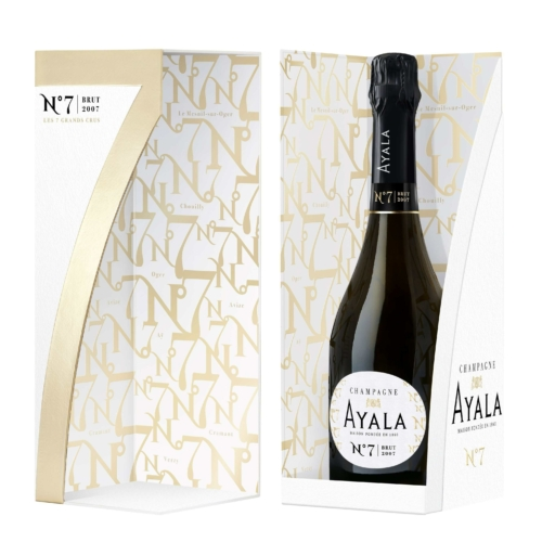 AYALA Collection No.7. 2007 (VINTAGE) - 100% Grand Cru, Chouilly, Oger, Avize, Cramant, Le Mesnil sur Oger, Ay, Verzy - Champagne