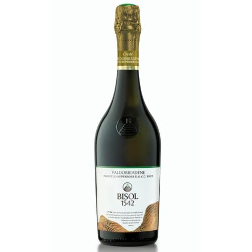 BISOL Crede Prosecco Valdobbiadane Superiore DOCG 2018 - Pezsgő - Glera szőlőfajta - Veneto
