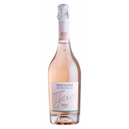 Bisol Prosecco Rosé egy világos halvány rózsaszín, narancsos tónusú Prosecco 85% Glera és 15% Pinot Noir egy egybefüggő szőlőültetvényről szüretelve.