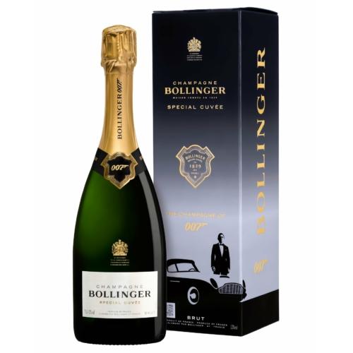 BOLLINGER Special Cuvée 007 Bond Edition - Champagne - 60% Pinot Noir, 25% Chardonnay és 15% Pinot Meunier
