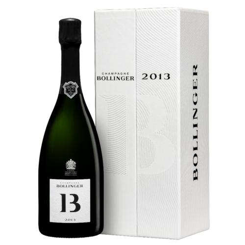 Bollinger B13 Blanc de Noirs 2013 - 100%-ban újrahasznosított díszdobozban