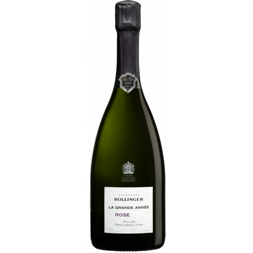 BOLLINGER La Grande Année Rosé 2012 - 65% Pinot Noir, 35% Chardonnay - Pezsgő - Champagne - Utolsó darabok