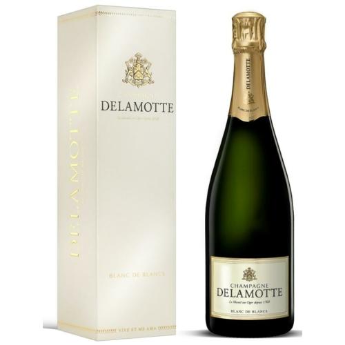 DELAMOTTE Blanc de Blancs - Champagne - Pezsgő - 100% Chardonnay