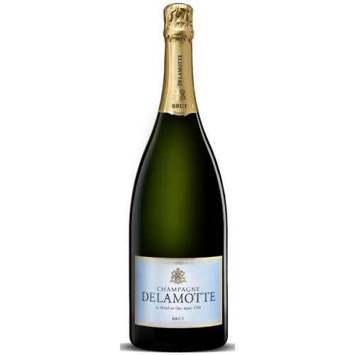 DELAMOTTE Brut Magnum - Az 55% Chardonnay adja a szerkezetét és gerincét