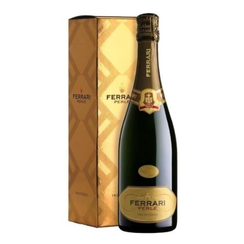 FERRARI Perlé 2014 - 100% Chardonnay - Díszdobozos Ferrari Pezsgő