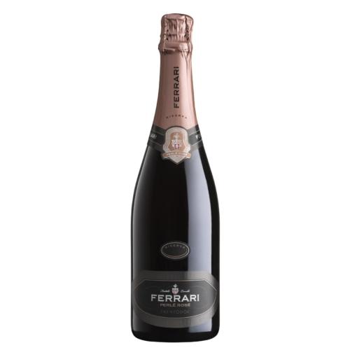 FERRARI Perlé Rosé Riserva 2014 - Rosé Ferrari Pezsgő - 80% Pinot Noir, 20% Chardonnay
