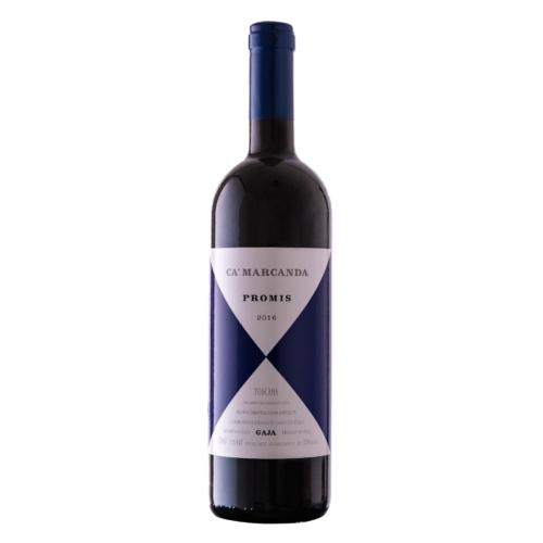 GAJA Ca'Marcanda Promis Bolgheri 2018 - 55% Merlot, 35% Syrah, 10% Sangiovese. Vörös bor rendelés