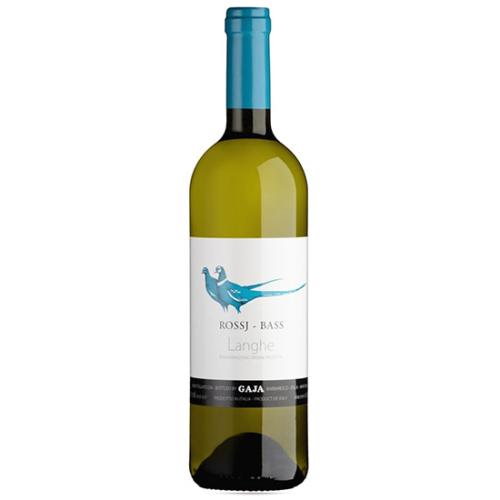 GAJA Rossj Bass Langhe Chardonnay DOP 2017 - Fehér bor 95% Chardonnay, 5% Sauvignon Blanc