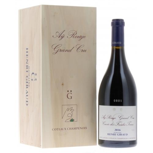 HENRI GIRAUD Coteaux Champenois Rouge R000 2016 - újrahasznosított dobozban - 100% Pinot Noir vörös
