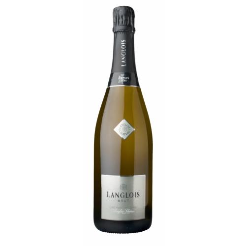 LANGLOIS-CHATEAU Crémant de Loire Brut - 60% Chenin Blanc 10% reserve bort beleértve, 20% Chardonnay és 20% Cabernet Franc Pezsgő