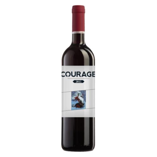 2HA Courage 2015 mely Török Csaba csúcs vörösbora - Cabernet Franc, Merlot, Syrah, Petit Verdot