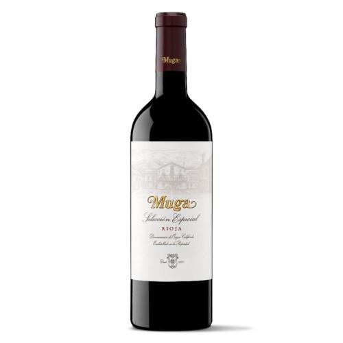 Muga Selection Especial  közepesen mély, sűrű gránát-fekete cseresznye színű. Illata összetett, érett, vörös és fekete bogyós gyümölcsök kerülnek előtérbe, fekete bors és finom, krémes, füstös tölgy árnyalataival, majd kávéjegyekkel és egy kis mentával.