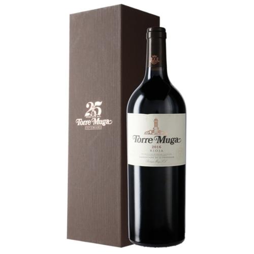 MUGA Torre Muga 2016 - 25 éves évforduló külön kiadású díszdobozban! - Vörös bor